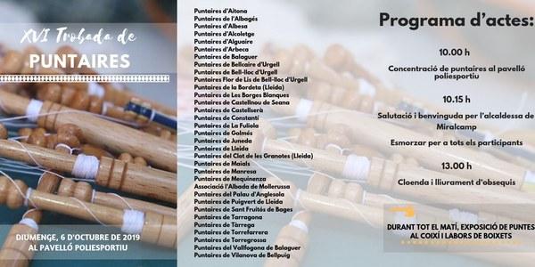XVI TROBADA DE PUNTAIRES