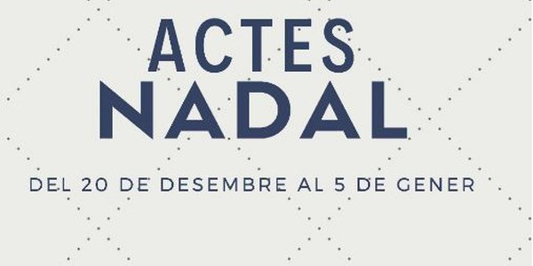 Actes Nadal 2019
