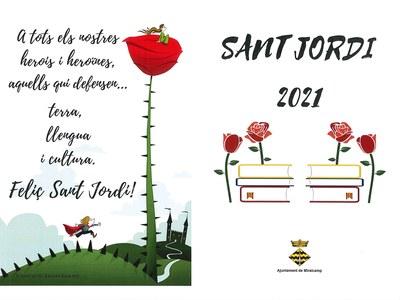 DIADA DE SANT JORDI 2021