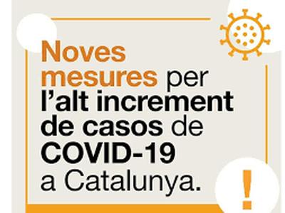 NOVES MESURES CONTRA LA COVID-19