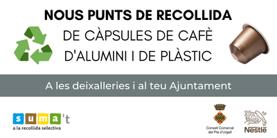PUNT DE RECOLLIDA DE CÀPSULES DE CAFÈ