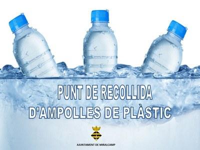 RECOLLIDA D'AMPOLLES DE PLÀSTIC