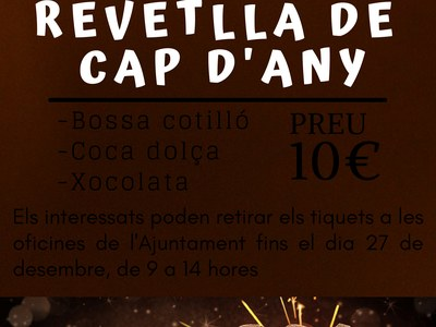 REVETLLA DE CAP D'ANY 2019/2020